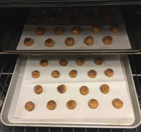 Snickerdoodle - in the oven 2